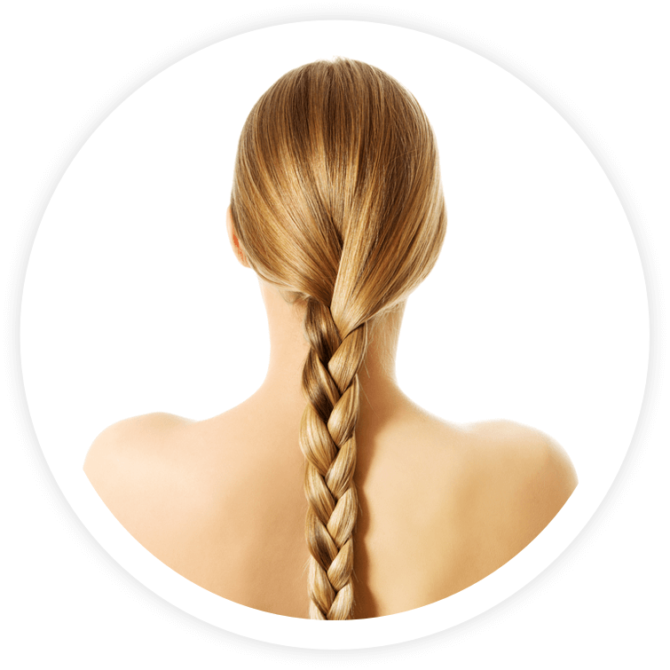 Hair extensions for girls with medium-thick hair