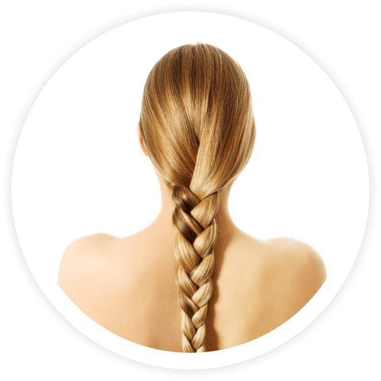 Hair extensions for girls with thick or short hair