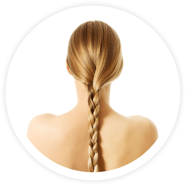 Hair extensions for girls with thin and fine hair