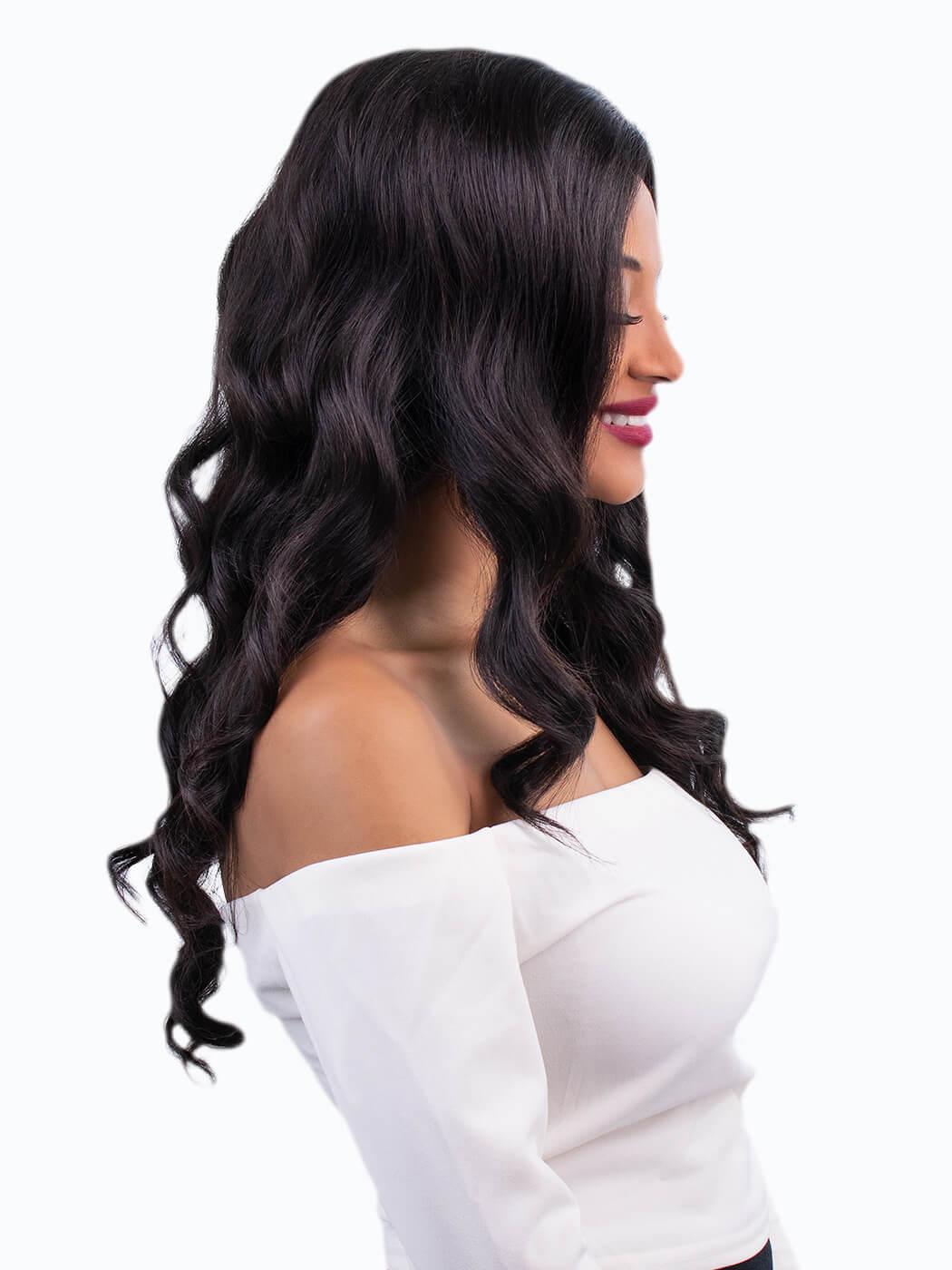 Human Hair | Off Black