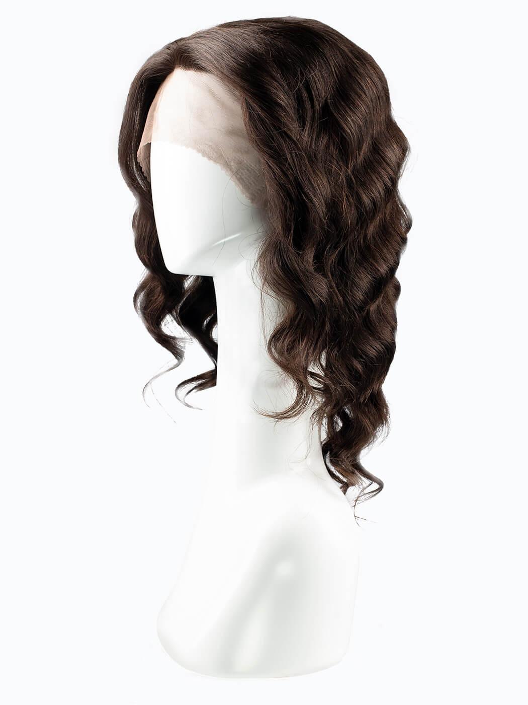 Human Hair   Dark Brown