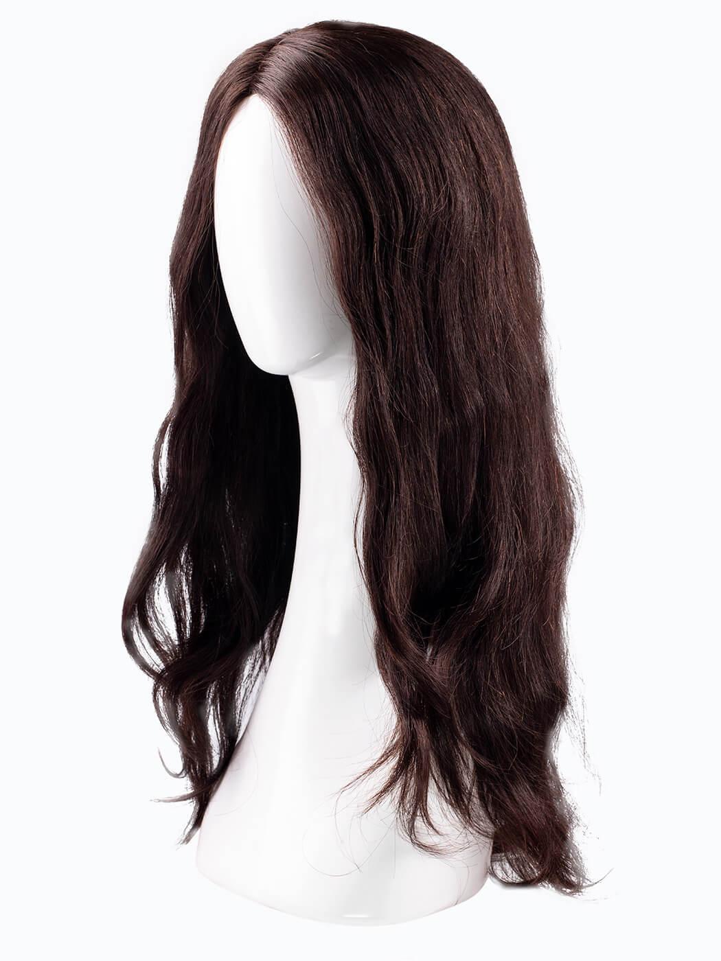 Human Hair | Deep Chocolate Brown