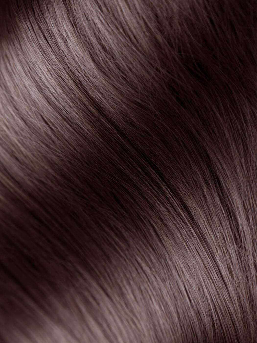Human Hair Blend | Deep Chocolate Brown